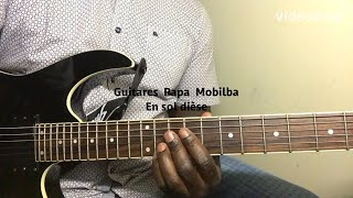 Download lagu TUTORIEL GUITARE: Papa mobimba koffi olomide seben