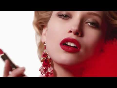 Реклама помады Кларанс — Жоли Руж (2018)