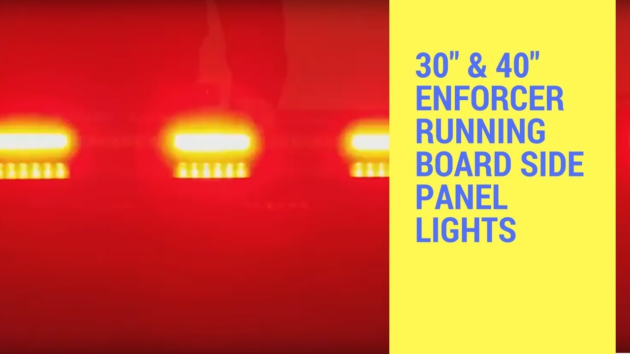 Led Outfitters Warning Bars And Traffic Advisors 30 40 Enforcer Color Changing Light Circuit Board Buy Boardsled Running Side Panel Lights