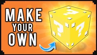 Awesome: This Program Let's You Make Custom Lucky Blocks for Minecraft