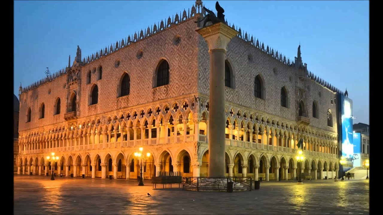 a report on the actual palace palazzo ducale The doge's palace is a palace built in venetian gothic style, and one of the main  landmarks of  the island of malamocco to the area of the present-day rialto,  when it was decided a palatium duci (latin for ducal palace) should be built.