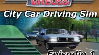 Lets play City car Driving Simulator 1.2.2 spanish commentary