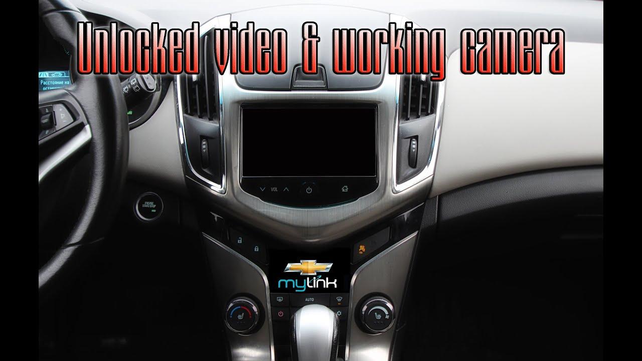 Chevy Mylink Update >> Unlocked video & working camera on Mylink (chevrolet) - YouTube