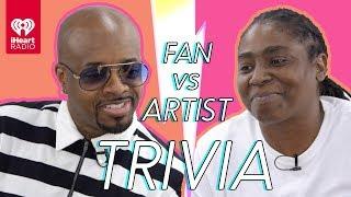 Jermaine Dupri Challenges Super Fan In Trivia Battle | Fan Vs. Artist Trivia