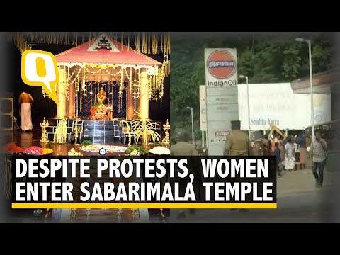 Sabarimala Row: Despite Ugly Protests, Women Enter the Temple