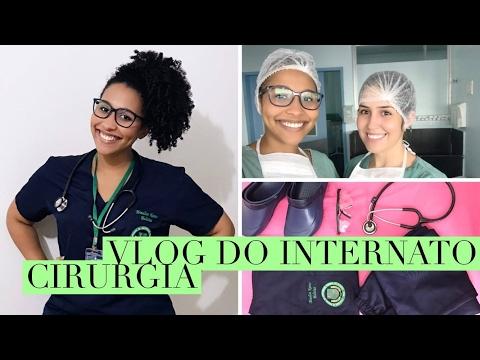 VLOG MEDICINA:  PRIMEIRO PLANTÃO + ESTÁGIO de CIRURGIA