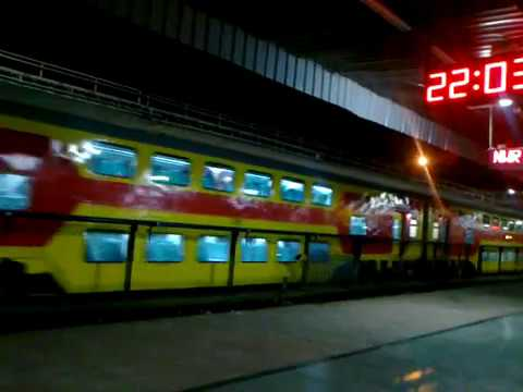 Double Decker Train arrives in Delhi railways station