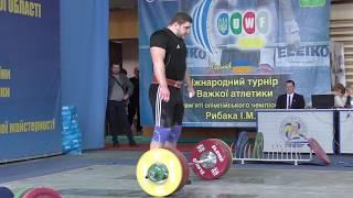 #weightlifting Кобец Максим турнир И. Рыбака, Чемпионат Украины ШВСМ по тяжелой атлетике 2017