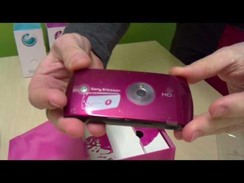 Sony Ericsson Vivaz - Unboxing