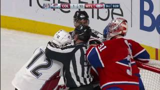 Iginla shows frustration with Emelin