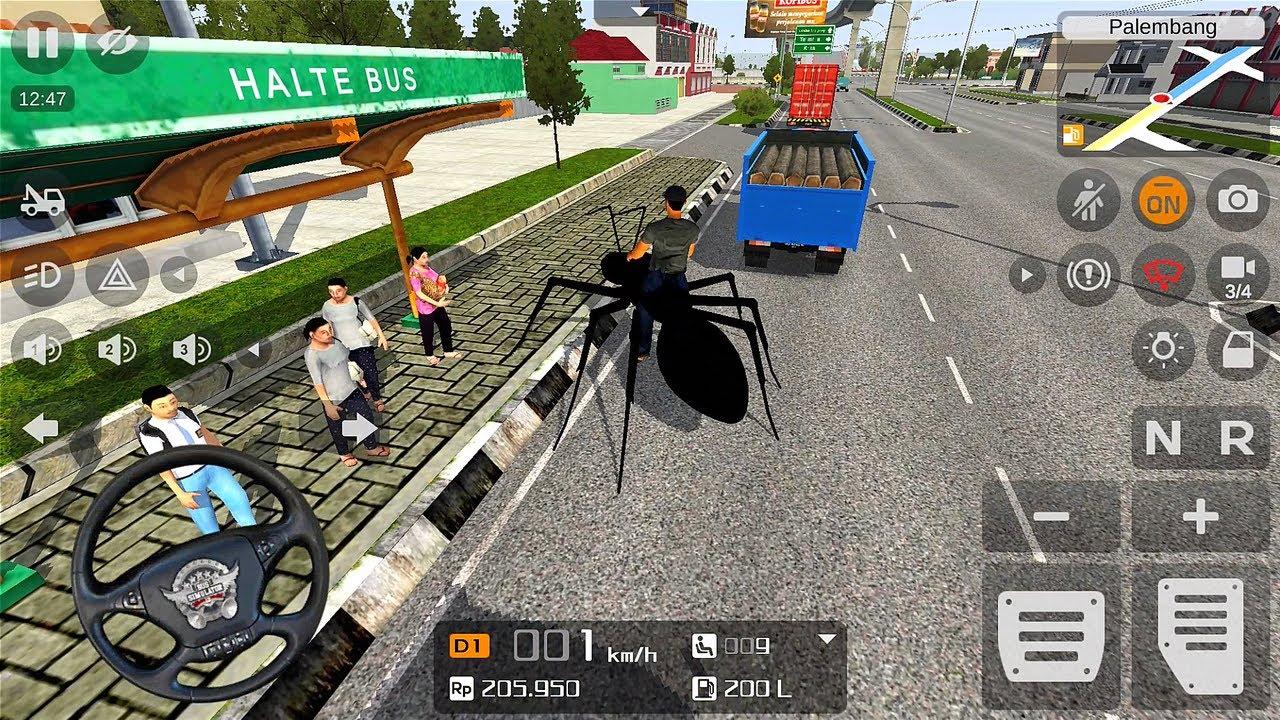 Bussid Monster Semut Hitam Mod   Bus Simulator Indonesia