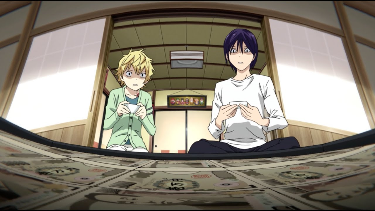 Noragami The Power Of Money Youtube