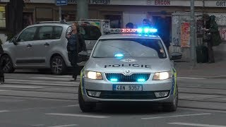 Priority Siren?| Czech Police responding in Prague