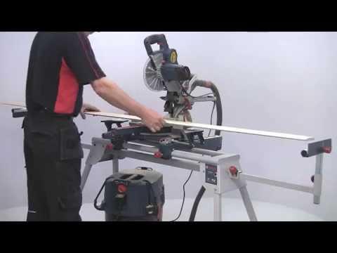bosch gcm 8 sjl 8 216mm sliding mitre saw with laser cutting guide youtube. Black Bedroom Furniture Sets. Home Design Ideas