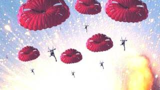Over 900 Parachute Fireworks EXPLOSION!