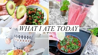 One of AnnieJaffrey's most viewed videos: WHAT I ATE TODAY! Healthy & Easy | Annie Jaffrey