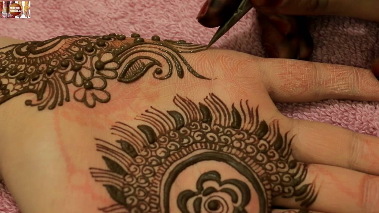 Mehndi Bunch On Arm : Magical leaf beautiful easy floral mehndi designs for hands