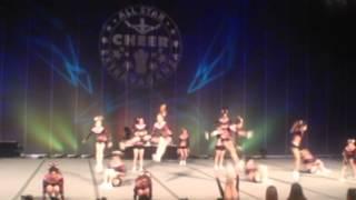Extreme Cheer Sensation...Diamonds - ACE Allstar Extravaganza...Senior Level 3...2013