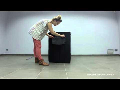 Growbox aufbau secret jardin dark propagator dp90 youtube for Buy secret jardin