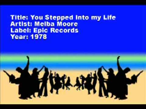 You Stepped Into My Life - Melba Moore