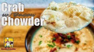 Crab Chowder | Seafood Chowder | Crock Pot Recipe