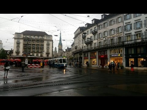 City tour in Zurich