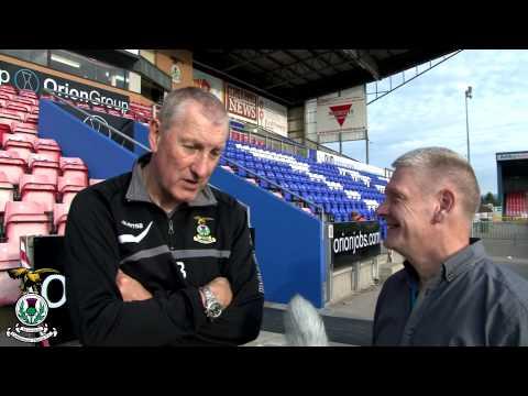 Terry Butcher post match interview v Hibernian, 28/09/2013