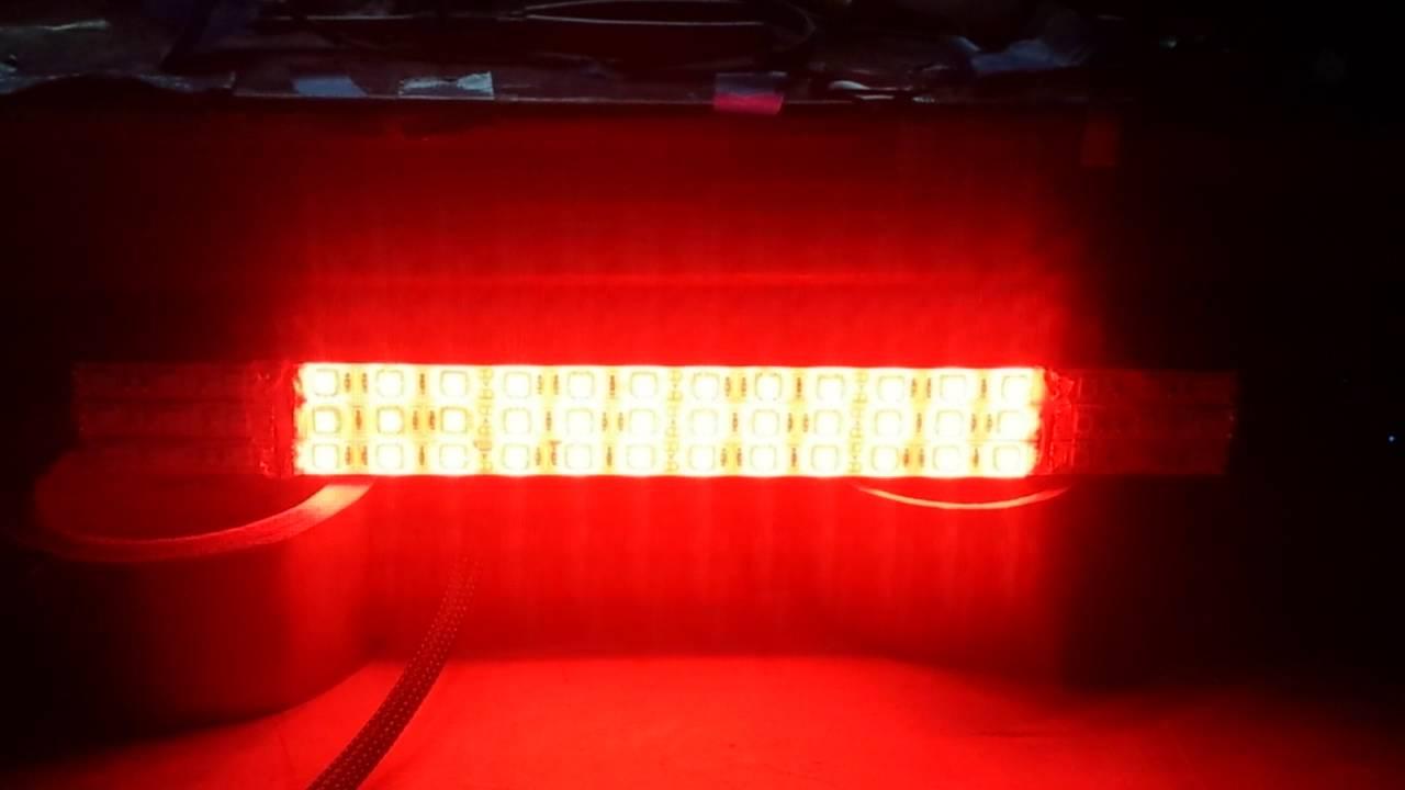 Led strip brake light turn signal youtube led strip brake light turn signal aloadofball Images