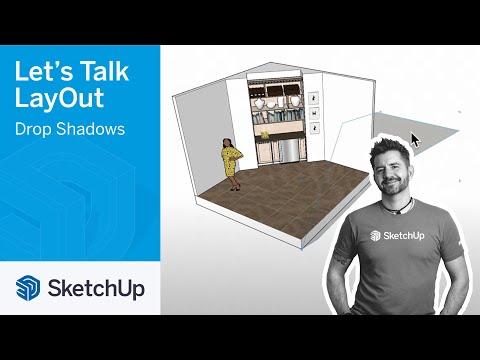 Drop Shadows - Let's Talk LayOut