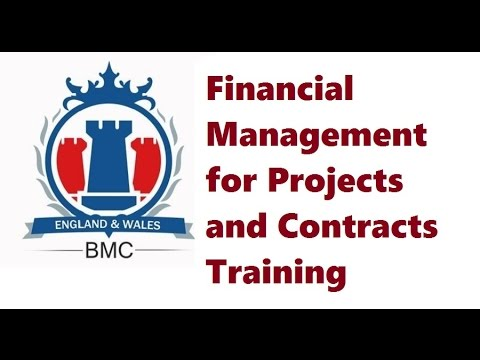 Financial Management for Projects and Contracts Training