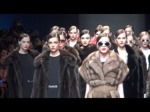 Italien Fur Fashion Show 2015  Milano