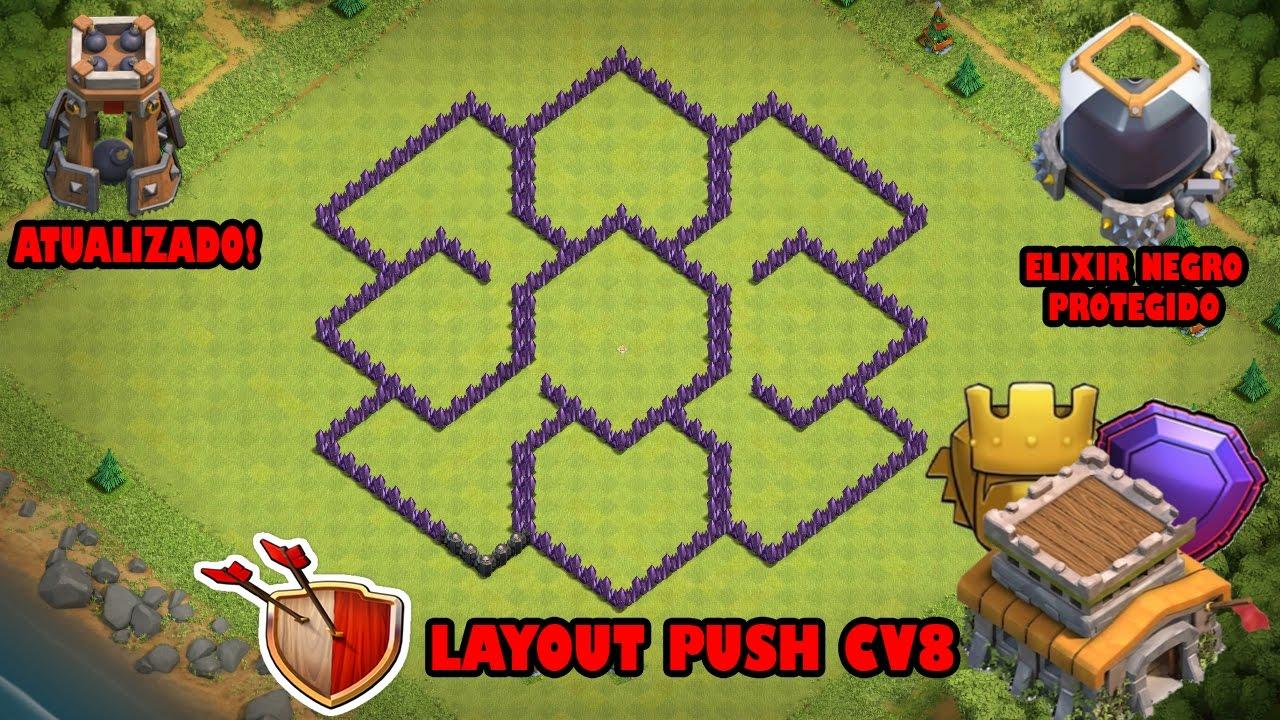 layout cv 8 push manual guide example 2018