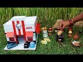 Miniature KFC Chicken | KFC Chicken Recipe | Miniature Cooking #30 | Mini Foodkey