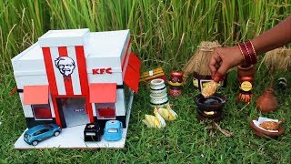 Miniature KFC Chicken | KFC Chicken Recipe | Miniature Cooking #30 | Mini Foodkey