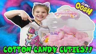 Cotton Candy Cuties! Super Satisfying Cotton Candy Slime!