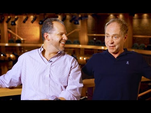 Interview with Aaron Posner and Teller (of Penn & Teller)