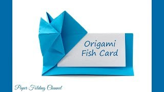 Origami Fish Card