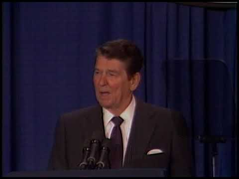 President Reagan's Remarks to the US Chamber of Commerce on April 23, 1986
