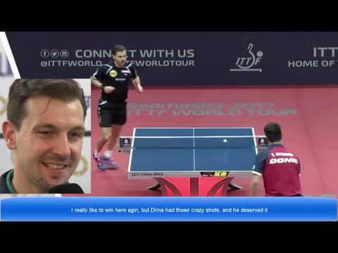 [TT interview] Timo Boll  Dima Ovtcharov -After Final (English Noted)