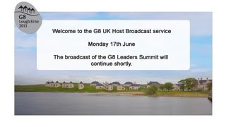 G8 Summit Livestream - June 17