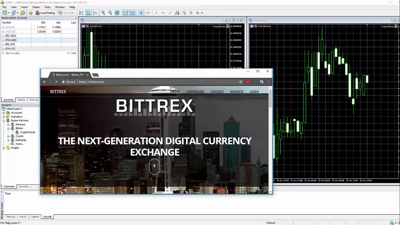 how to trade cryptocurrency with metatrader