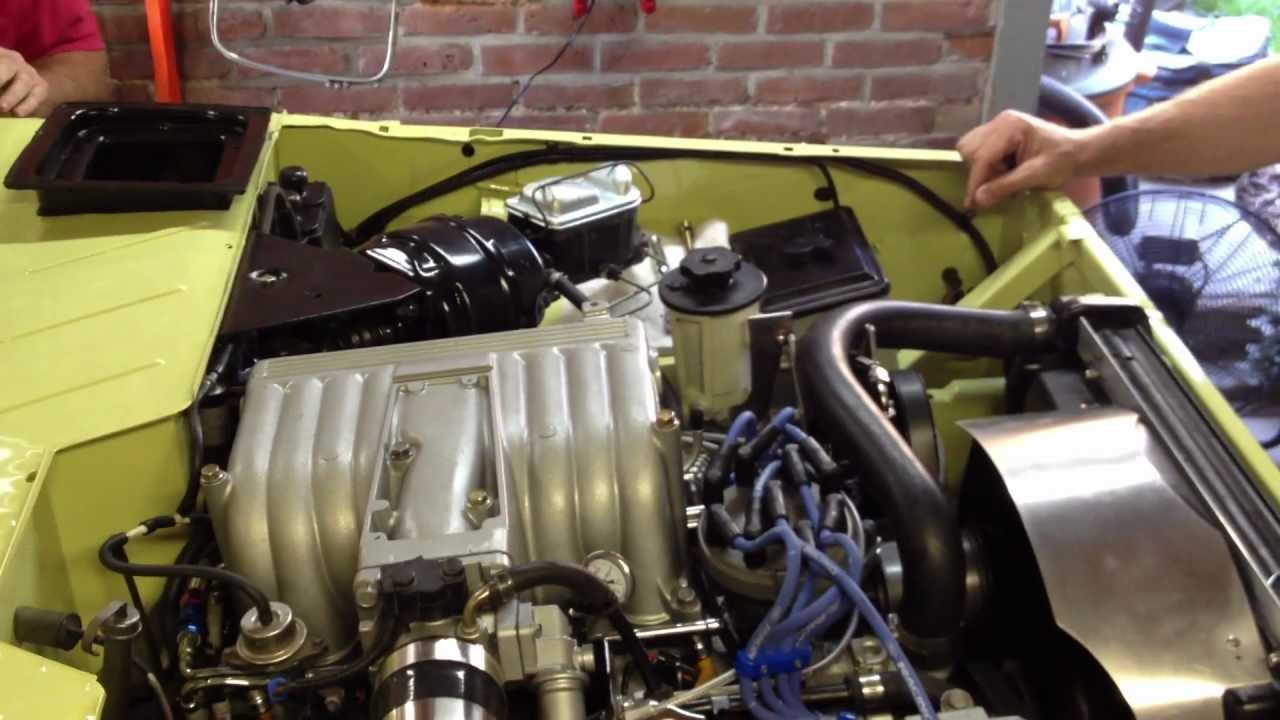 1979 Mustang Wiring Diagram 1976 Ford Bronco Ranger Efi First Start Youtube