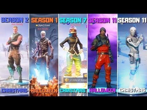 Evolution Of Fortnite Lobby Backgrounds! All Fortnite Lobby Background(Season 1 - Season 11)