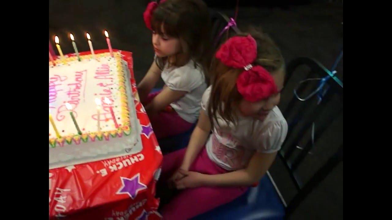 Annie Allies Birthday Party At Chuck E Cheese Pinata More