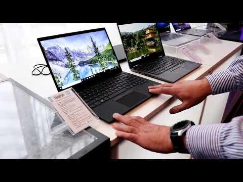 Lenovo ThinkPad X1 Carbon 7th Gen And X1 Yoga 4th Gen Hands