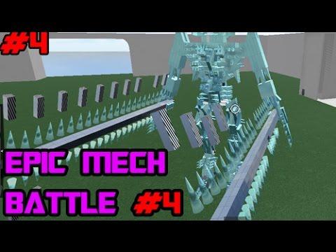Roblox Mech Games Roblox Build Your Own Mech Battle 4 Xxoverlord34xx Vs Uchidazexus Youtube