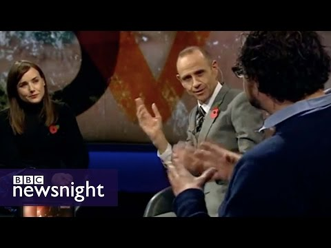 Dapper Laughs: Funny or offensive? BBC Newsnight debates