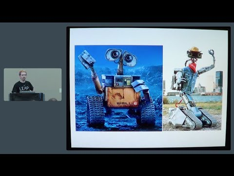 RobotsConf 2014: Interaction Interfaces with Leap Motion