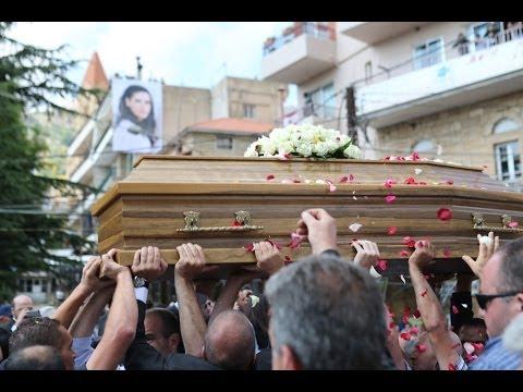 وداع السيد فريد جعجع والد د. جعجع