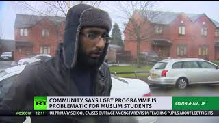Parents at Birmingham primary school want to ban lessons on LGBT rights